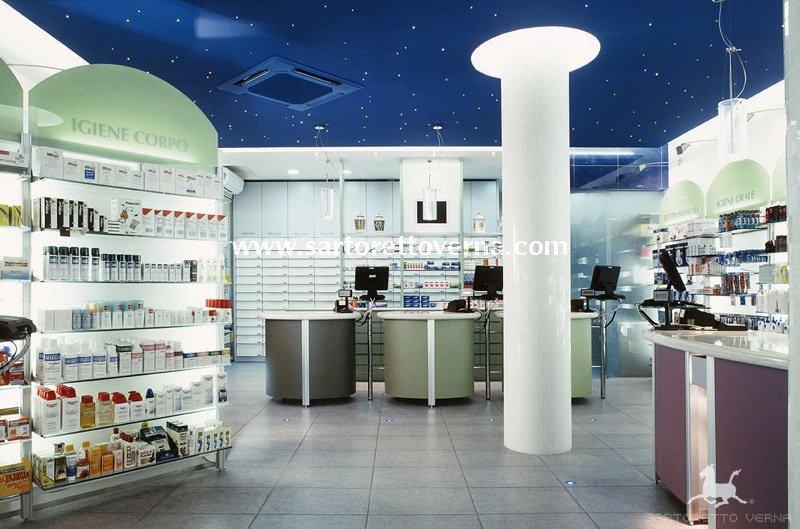 Progettazione e mobili farmacia concorso farmacie for Clou arredi farmacie